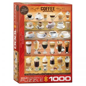 173 – 1000pce Puzzles 6000-0589 Coffee