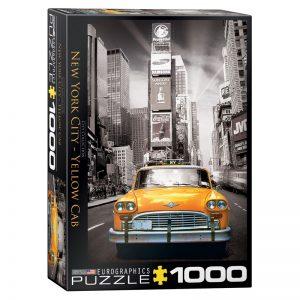 173 – 1000pce Puzzles 6000-0657 New York City Yellow Cab