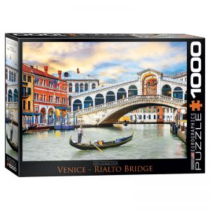 173 – 1000pce Puzzles 6000-0766 Venice Rialto Bridge