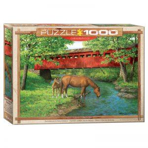 173 – 1000pce Puzzles 6000-0834 Sweet Water Bridge