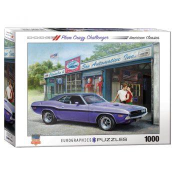 173 – 1000pce Puzzles 6000-0985 Plum Crazy Challenger