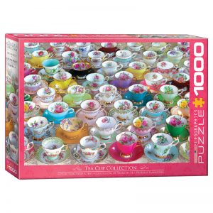 173 – 1000pce Puzzles 6000-5314 Teacup Collection