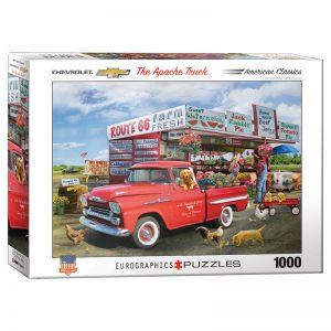 173 – 1000pce Puzzles 6000-5337 Chevrolet-Apache-Giordano