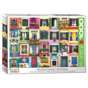 173 – 1000pce Puzzles 6000-5350 Mediterranean Windows