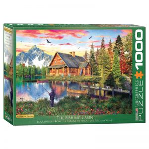 173 – 1000pce Puzzles 6000-5376 The Fishing Cottage