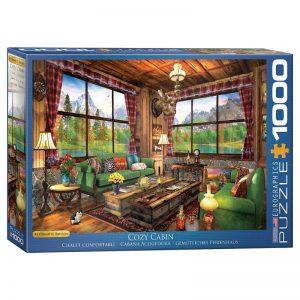 173 – 1000pce Puzzles 6000-5377 Cosy Cabin
