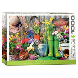 173 – 1000pce Puzzles 6000-5391 Garden Tools