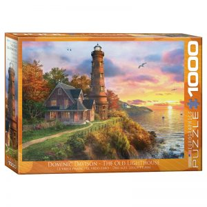 173 – 1000pce Puzzles 6000-0965 The Old Lighthouse
