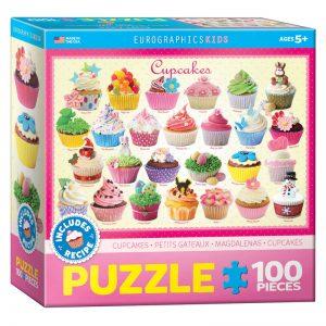 175b – 100pce Puzzle 6100-0519 Cupcakes