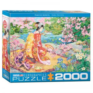 179 – 2000pce Puzzles (5 Des) 8220-0975 Haru No Uta