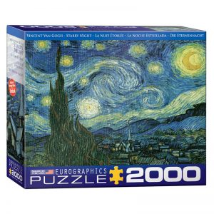 179 – 2000pce Puzzles (5 Des) 8220-1204 Starry Night