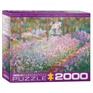 179 – 2000pce Puzzles (5 Des) 8220-4908 Monets Garden
