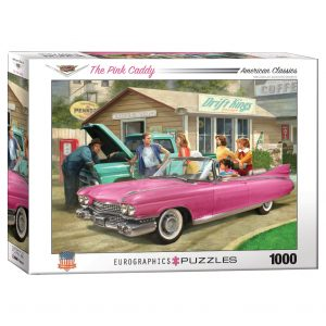 173 – 1000pce Puzzles 6000-0955 The Pink Caddy