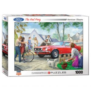173 – 1000pce Puzzles 6000-0956 The Red Pony