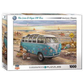 173 – 1000pce Puzzles 6000-5310 The Love & Hope Bus