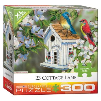172 – 300pce Oversized Family Puzzles (16 Des) 8300-0601 23 Cottage Lane