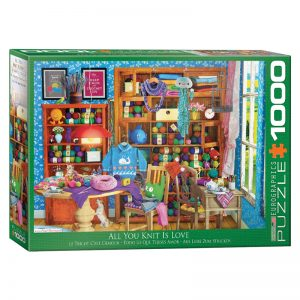 173 – 1000pce Puzzles 6000-5405 All You Knit Is Love