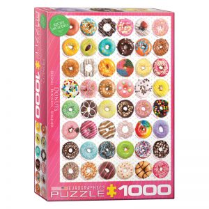 173 – 1000pce Puzzles 6000-0585 Donut Tops Sweet Collection