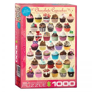 173 – 1000pce Puzzles 6000-0587 Chocolate Cupcakes