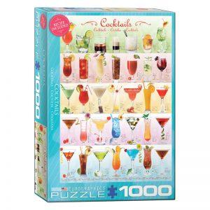 173 – 1000pce Puzzles 6000-0588 Cocktails