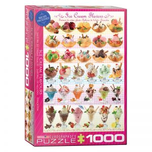 173 – 1000pce Puzzles 6000-0590 Ice-Cream-Flavours
