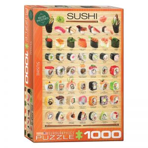 173 – 1000pce Puzzles 6000-0597 Sushi