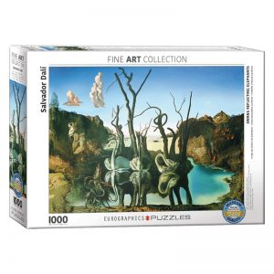 173 – 1000pce Puzzles 6000-0846 Swan's Reflecting Elephants