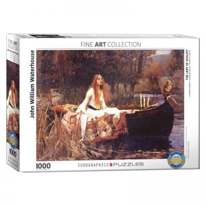 173 – 1000pce Puzzles 6000-1133 The Lady Of Shalott