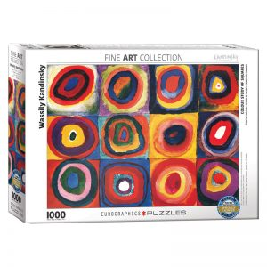 173 – 1000pce Puzzles 6000-1323 Colour Study Of Squares