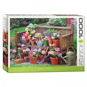 173 – 1000pce Puzzles 6000-5345 Garden Bench
