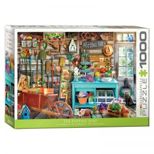 173 – 1000pce Puzzles 6000-5346 The Potting Shed