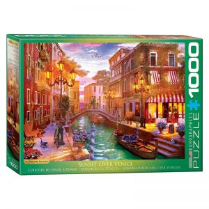 173 – 1000pce Puzzles 6000-5353 Sunset Over Venice