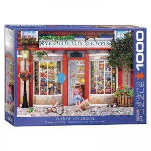 173 – 1000pce Puzzles 6000-5406 Ye Olde Toy Shoppe