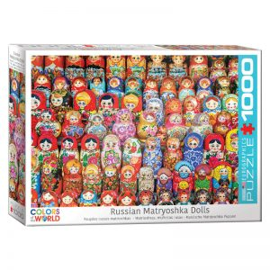 173 – 1000pce Puzzles 6000-5420 Russian Matroyshka Dolls