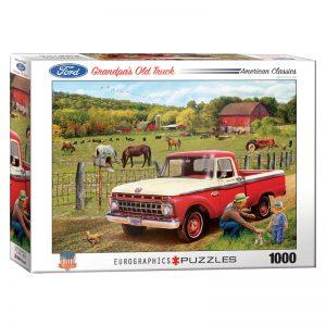 173 – 1000pce Puzzles 6000-5467 Grandpa's Old Truck