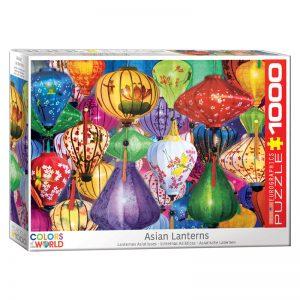173 – 1000pce Puzzles 6000-5469 Asian Lanterns