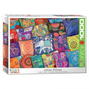 173 – 1000pce Puzzles 6000-5470 Indian Pillows