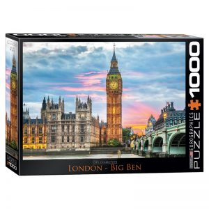 173 – 1000pce Puzzles 6000-0764 London Big Ben