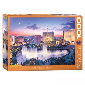 173 – 1000pce Puzzles 6000-5491 Las Vegas Strip