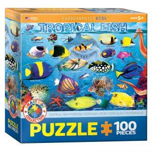175b – 100pce Puzzle 6100-5484 Tropical Fish