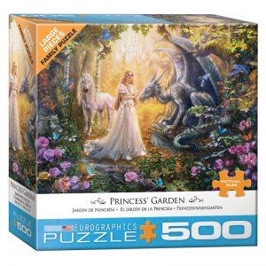 178 – 500pce Oversized Family Puzzles (4 Des) 8500-5458 Princess Garden