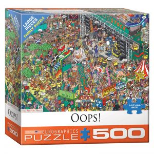 178 – 500pce Oversized Family Puzzles (4 Des) 8500-5459 Oops