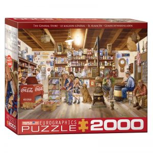 179 – 2000pce Puzzles 8220-5481 The General Store