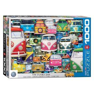 173 – 1000pce Puzzles 6000-5423 VW Funky Jam