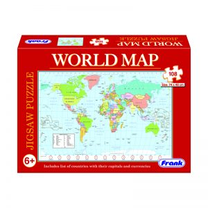 155 – 108pc World Map Puzzle