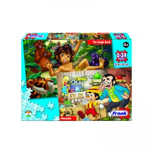 162 – Fairytales 2 X 24pc Pinn+Jungle