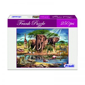 165 – 250pc Frank Puzzle In Africa