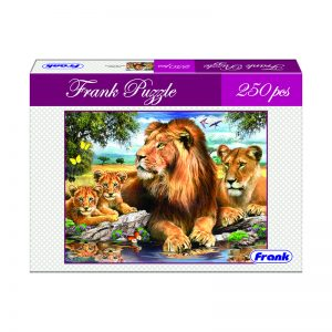 165 – 250pc Frank Puzzle Lion Family