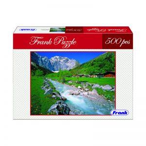 168 – 500pc Frank Puzzle Alpine Pasture
