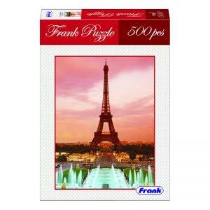 168 – 500pc Frank Puzzle Eiffel Tower
